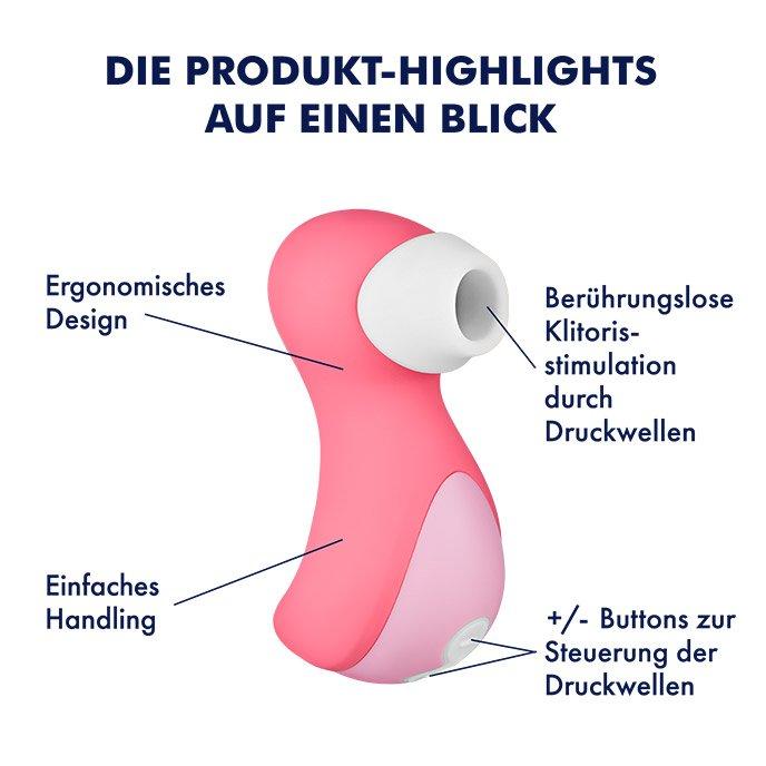 Der Preisleistungssieger - Druckwellen-Vibrator Flamingo