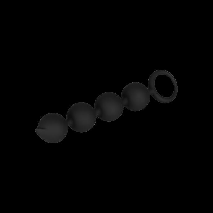 Der Preisleistungssieger - Weiche Silikon-Analkette 15 cm